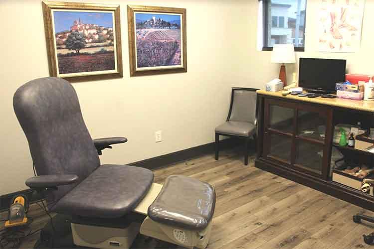 Katy foot care interior